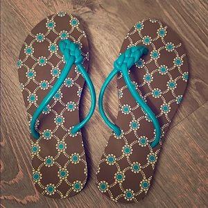 Vera Bradley flip flops never been worn
